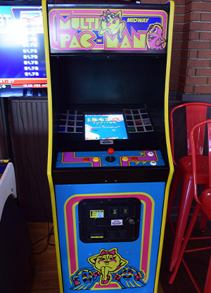 The Ms Pac Man Arcade Game