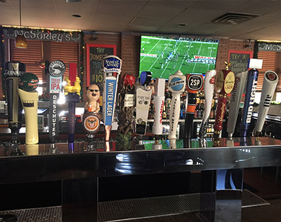 Our Beers on Tap