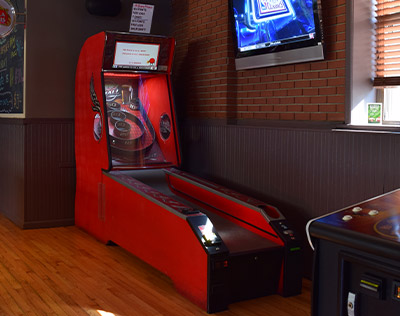 Skee ball arcade game